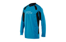 Royal Racing Turbulence LS Bike Jersey men electric blue/black